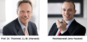 Prof. Dr. Thümmel, LL.M. und Jens Haubold - Autoren im kostenfreien Online-Gesetzeskommentar zum GmbHG
